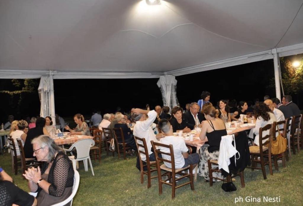 Cena sotto le stelle nella cornice del parco Puccini – Bonacchi