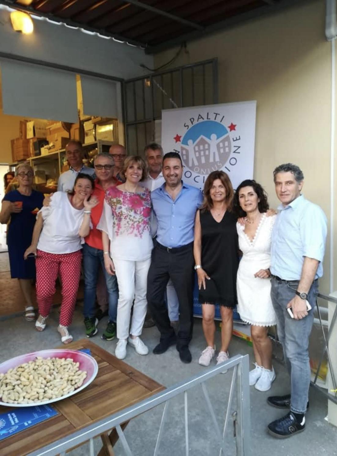 Inaugurazione spazio spalti con la collaborazione di Chianti Banca